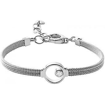 Skagen Elin SKJ0834040-kvinnors silver Maill arm band