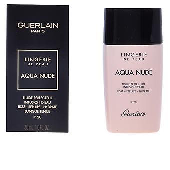 Guerlain Aqua Nude aperfeiçoando fluido Spf20 #05w-profundo quente 30ml Unisex