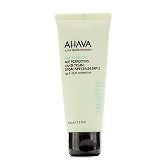 Ahava Time To Smooth Age Perfecting Hand Cream Broad Spectrum Spf15 - 75ml/2.5oz