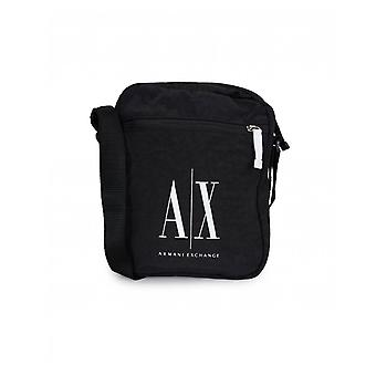 Armani Exchange Nylon Icon Logo Cross Body Bag