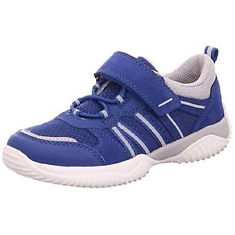 Superfit Boys Storm 6383-80 Trainers Blue Grey