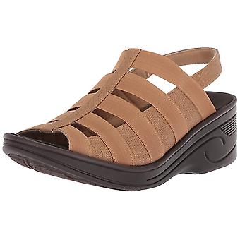 Easy Street Womens Floaty Open Toe Casual Strappy Sandals