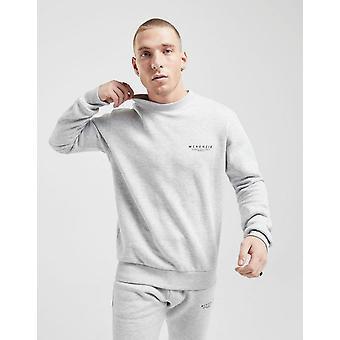 New McKenzie Men's Essential Crew Sweatshirt Grey
