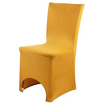 Gold Spandex Chair Cover Lycra cover