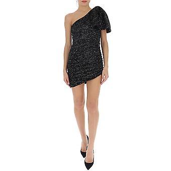 Amen Ams20405009 Kvinnor's Black Polyester Dress