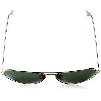 Ray-Ban RB3025 Aviador polarizado Óculos de Sol,, Ouro / Polarizado Verde, Tamanho 62 mm