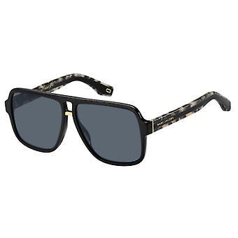Marc Jacobs Marc 273/S 807/IR Black/Grey-Blue Sunglasses