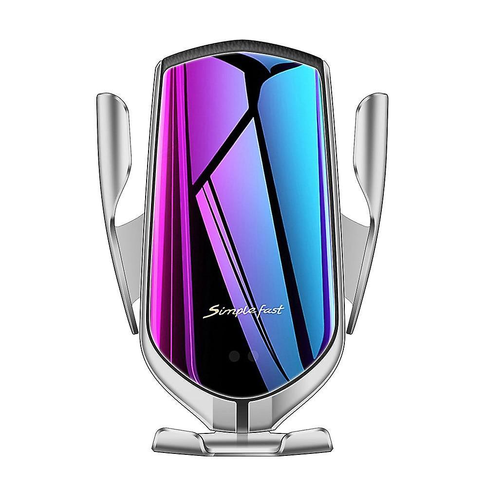 10w qi automatic wireless car charger