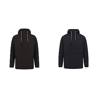 Front Row Mens Pullover Half-zip Jacket