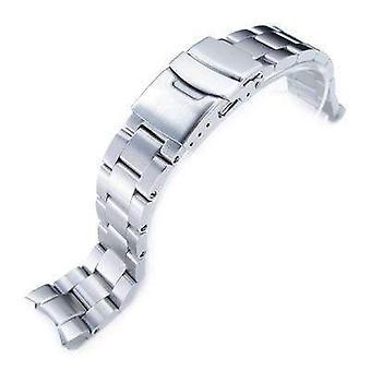 セイコーskx013用ストラップコード腕時計ブレスレット20mmスーパーオイスター316lステンレススチールウォッチバンド、ダイバークラスプブラシ