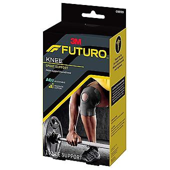 Futuro sport neoprene knee support, adjustable, 1 ea