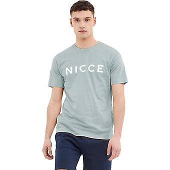 NICCE Original Logo T-Shirt Light Blue 16