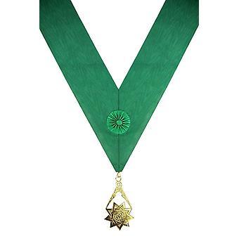 Royal order of scotland green sash & jewel