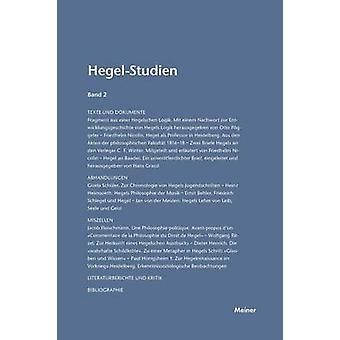 HegelStudien  HegelStudien Band 2 1963 by Pggeler & Otto