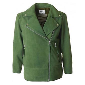 Moss Copenhagen Nahilia Suede Biker Jacket