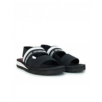 Love Moschino Footwear Elasticated Logo Sandals