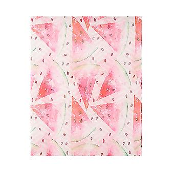 Jewelcity Womens/Ladies Watercolour Watermelon Print Scarf