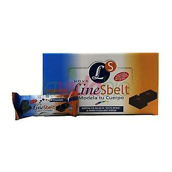 Novadiet Line Sbelt Chocolate Bars 1 Unit
