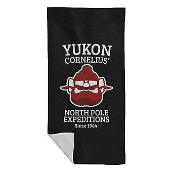 Rudolph The Red Nose Reindeer Yukon Cornelius Beach Towel