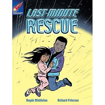 Last Minute Rescue: Lime Fiction (Rigby Star Independent)