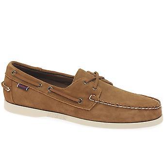 Sebago Portland Suede Mens Boat Shoes