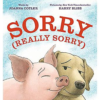 Sorry (Really Sorry) by Joanna Cotler - 9781984812476 Book