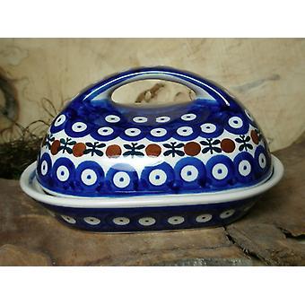 Smør rett, 250 g, 19 x 14 x 10 cm - tradisjonen 6 - Bunzlau keramikk - BSN 61733