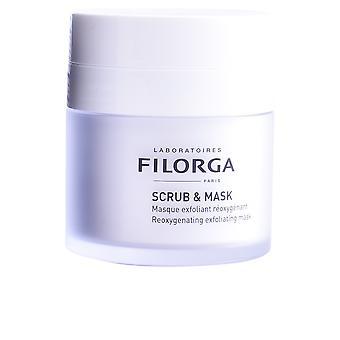 Laboratoires Filorga Scrub & masker Reoxygenating exfoliërende maskeren 55 Ml voor vrouwen