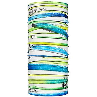 Buff New Original Neck Warmer in Surf Layers Multi