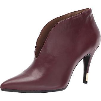 Aerosoles Women's Idealist Ankle Boot, Wine Leather, 9.5 M US