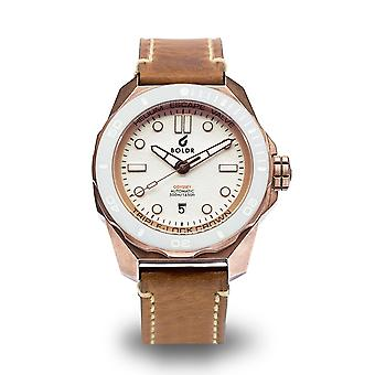 BOLDR Odyssey White Knight Bronze LIMITED EDITION Automatic Wristwatch