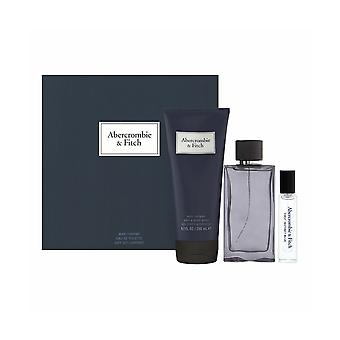 Abercrombie og Fitch - Første Instinct Blue SET EDT 100 ml + EDT 15 ml + Shower gel 200 ml - 100mlML