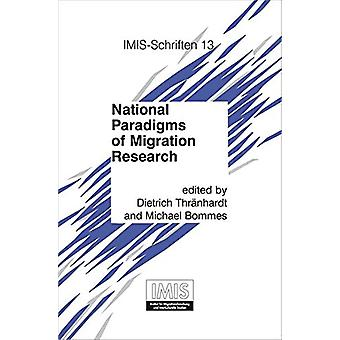 National Paradigms of Migration Research by Dietrich Thranhardt - 978