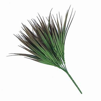 Artificial Brown Tipped Grass Plant 35 Cm