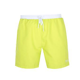 BOSS Starfish Bright Yellow Swim Shorts