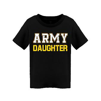 Armée Fille Lettrage Toddler-apos;s T-shirt