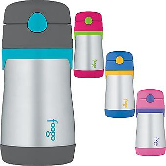 Thermos 10 oz. Kid's Foogo Phases Insulated Stainless Steel Straw Water Bottle