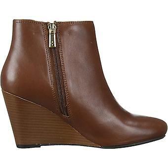 Kenneth Cole New York Women's Shoes Marcy Leather Almond Toe Ankle Fashion Bo...
