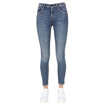 Pence 1979 Sofia74495d507lavmpit Women-apos;s Blue Cotton Jeans