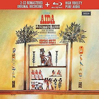 Leontyne Price - Verdi: Importación Aida [CD] Estados Unidos
