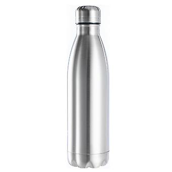 Sports Stainless Steel Insulated Vacuum Flask Water Bottle With Single Wall - Hot Cold Water Cola Bottle For Kids School
