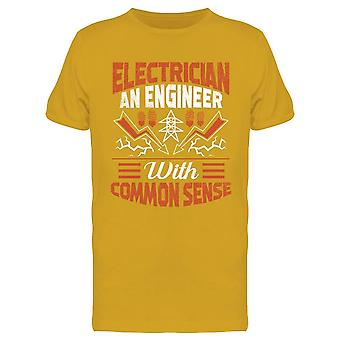 Engineer With Common Sense Tee Men's -Image by Shutterstock