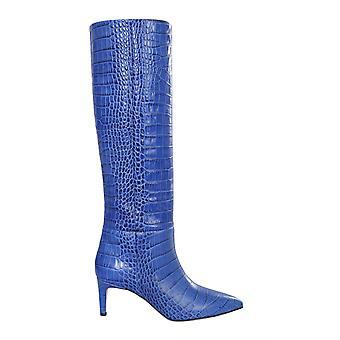 Paris Texas Px503xcag2bluette Women's Blue Leather Boots