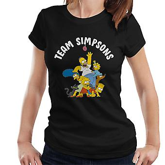 The Simpsons Family Team Women's T-Shirt