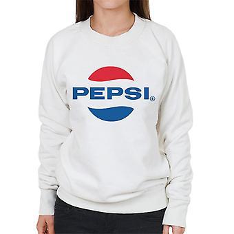 Pepsi 1960-luvun Logo Naisten's Collegepusero