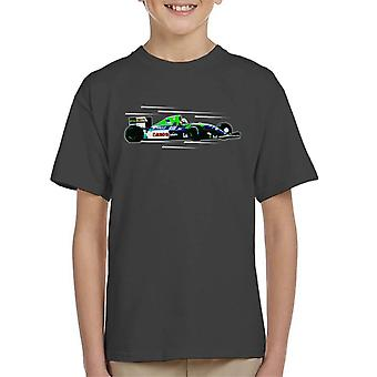 Motorsport Images Nigel Mansell FW14 At Silverstone Kid's T-Shirt