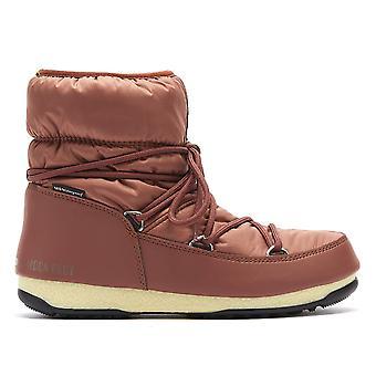 Moon Boot Nylon Low 2 Womens Rust Boots