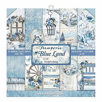 Pacchetto carta Blue Land da 12x12 pollici (SBBL47)