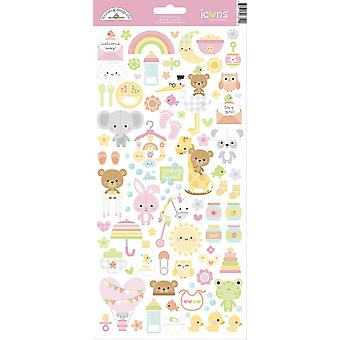 Doodlebug Design Bundle joy-kuvakkeet Tarrat