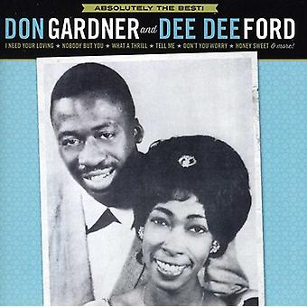 Don Gardner & Dee Dee Ford - Absolutely the Best [CD] USA import